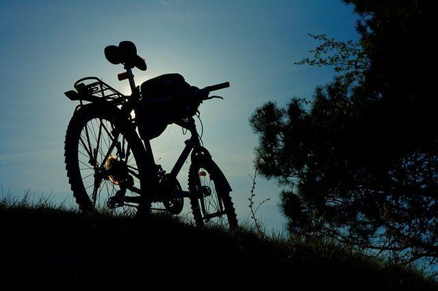 僕の自転車~愛車は白のLOUIS GARNEAL(マウンテンバイク)