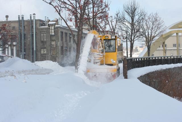 小樽の除雪車